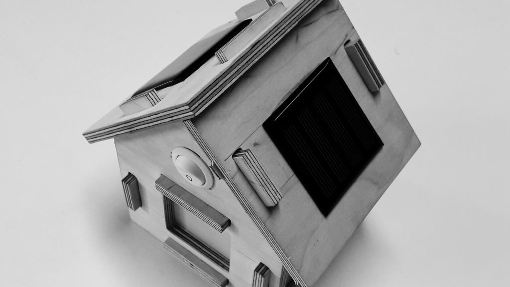 Solarhaus zum Selbstbauen, Halle 36 e.V.
