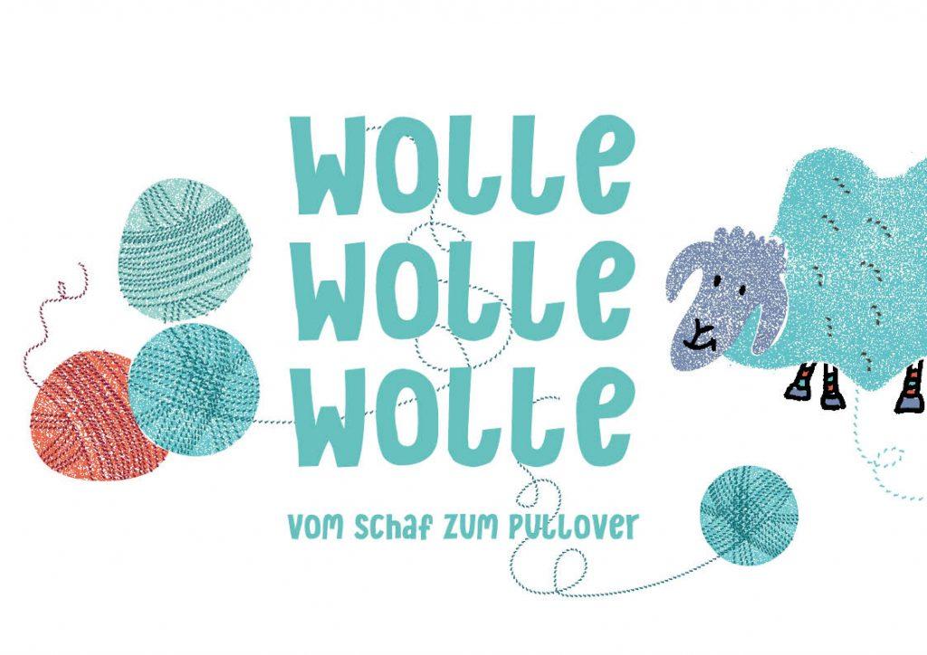 Wolle, Wolle, Wolle – vom Schaf zum Pullover, Projekt von Halle 36 e.V.